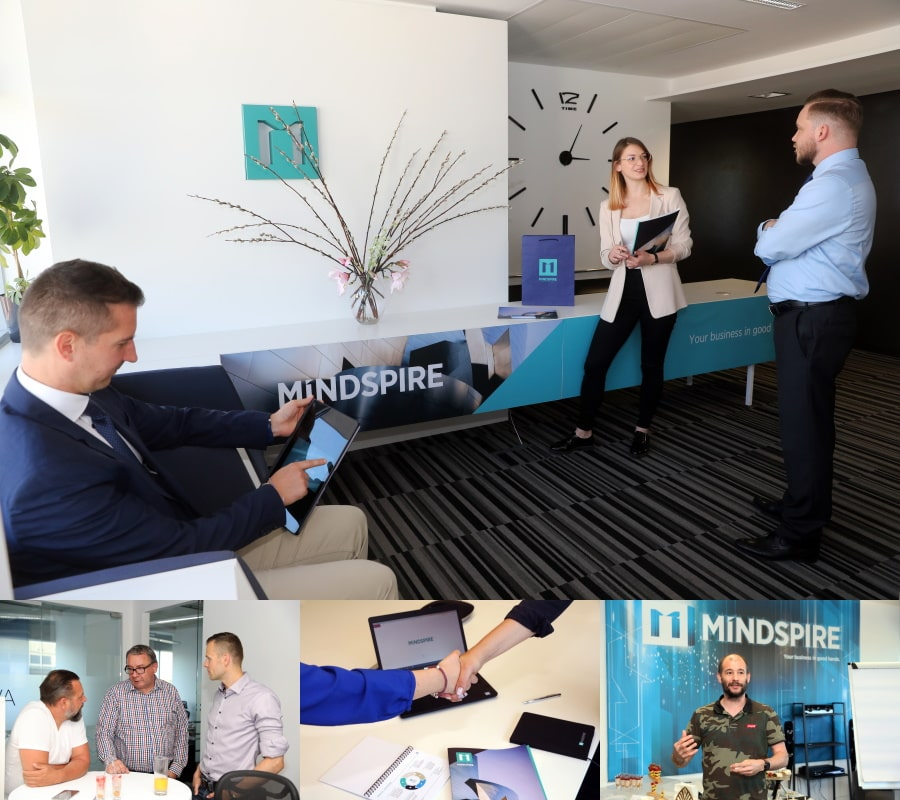 MINDSPIRE career photo montage