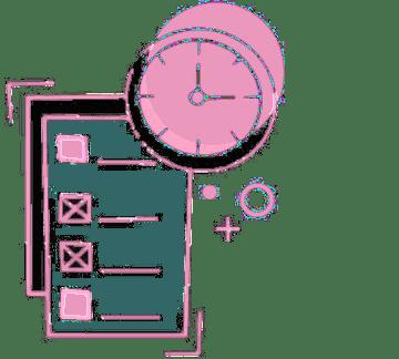 GDPR compliance Project management services pale icon