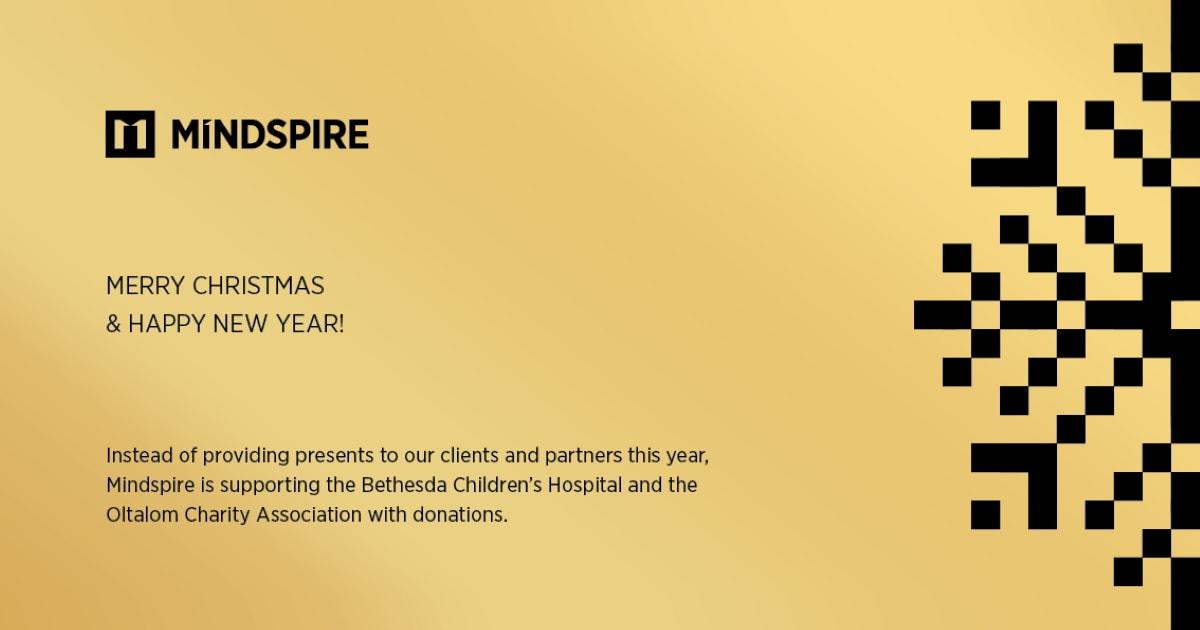 MINDSPIRE karácsonyi támogatások 2020