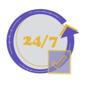 Minimizing downtime - TRANSPORT tool icon