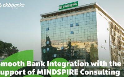 Egy újabb zökkenőmentes banki integráció a MINDSPIRE Consulting támogatásával