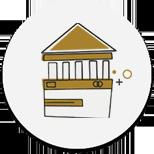 Banki transzformációs referenciák ikon