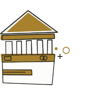 Banki transzformáció ikon
