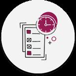 Projektmenedzsment szolgáltatások ikon