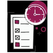 Projektmenedzsment szolgáltatás referenciák ikon